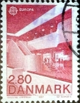 Stamps : Europe : Denmark :  Intercambio jcpf 0,35 usd 2,80 krone 1987