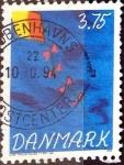 Sellos de Europa - Dinamarca -  Intercambio 0,30 usd 3,75 krone 1994
