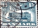 Stamps : Europe : Denmark :  Intercambio 0,35 usd 15 ore 1947