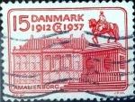 Sellos de Europa - Dinamarca -  Intercambio 0,25 usd 15 ore 1937