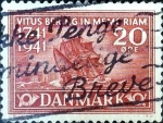 Stamps : Europe : Denmark :  Intercambio 0,25 usd 20 ore 1941