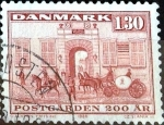 Stamps : Europe : Denmark :  Intercambio 0,25 usd 1,30 krone 1980