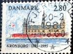 Sellos de Europa - Dinamarca -  Intercambio hb1r 0,25 usd 2,80 krone 1985