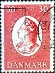 Sellos de Europa - Dinamarca -  Intercambio 0,30 usd 30 ore 1954