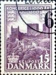 Sellos de Europa - Dinamarca -  Intercambio 0,20 usd 15 ore 1955