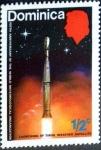 Stamps : Europe : Dominica :  Intercambio nfxb 0,20 usd 1/2 cent. 1973
