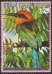 Sellos del Mundo : Africa : Guinea_Ecuatorial : el momotus mexicanus