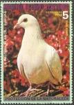 Stamps Equatorial Guinea -  Paloma blanca