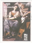 Stamps : Asia : Cambodia :  angel y músico