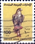 Stamps : Asia : United_Arab_Emirates :  Intercambio 1,25 usd 100 fils 1990