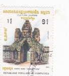 Sellos de Asia - Camboya -  cultura Khmere