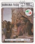 Stamps Burkina Faso -  alegoría a la calumnia
