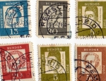 Stamps : Europe : Germany :  Deutsche Bundes Post