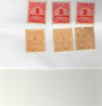 Stamps : Europe : Germany :  5 Mililonen