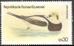 Stamps Equatorial Guinea -  Long tailed duck-Pato de cola larga