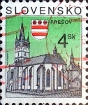 Sellos del Mundo : Europa : Eslovenia : Intercambio 0,20 usd 4 k. 1995