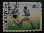 Stamps Azerbaijan -  1994 World Cup Soccer Championships, U.S.