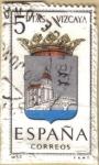 Stamps Spain -  VIZCAYA - Escudos Provincias España
