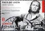 Sellos de Europa - España -  Intercambio 0,40 usd tarifa B 2014