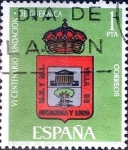 Stamps : Europe : Spain :  Intercambio 0,20 usd 1 pts. 1966