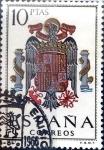 sello : Europa : España : Intercambio 0,20 usd 10 ptas. 1966