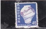 Stamps : Asia : South_Korea :  cerámica