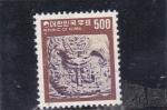 Stamps South Korea -  artesanía