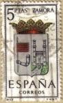 Sellos de Europa - España -  ZAMORA - Escudos Provincias España