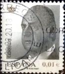 Sellos de Europa - España -  Intercambio 0,20 usd 1 cent. 2008