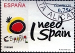 Stamps Spain -  Intercambio ma4xs 0,80 usd 75 cent. 2013