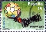 Sellos del Mundo : Europa : España : Intercambio mas 1,10 usd 1 euro 2008