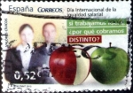 Stamps : Europe : Spain :  Intercambio 0,60 usd 52 cent. 2013