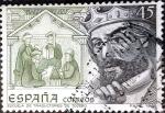 sello : Europa : España : Intercambio mas 0,20 usd 45 ptas. 1986