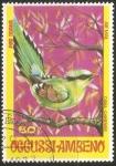 Stamps Asia - East Timor -  Cissa chinensis-urraca verde