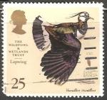Sellos de Europa - Reino Unido -  Lapwing