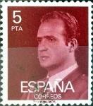 Sellos de Europa - España -  Intercambio 0,20 usd 5 ptas. 1976