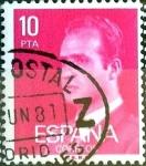 sello : Europa : España : Intercambio 0,20 usd 10 ptas. 1977