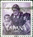 Stamps : Europe : Spain :  Intercambio 0,20 usd 25 cent. 1960