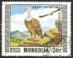 Sellos de Europa - Mongolia -  yps fulvus