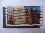 Stamps Canada -  300 Aniversarios del fallecimiento de Jeanne Mance, 1606-/73 - Fundadora de Montreal.
