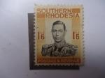 Stamps : Africa : Zimbabwe :  Jorge VI .