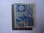 Sellos de Asia - Japón -  Monte Fuji and Deer. (Scott:196 - Mi:232)