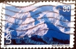 Stamps United States -  Intercambio 0,35 usd 80 cent. 2001