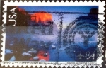 Stamps United States -  Intercambio 0,35 usd 84 cent. 2006