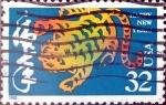 Sellos de America - Estados Unidos -  Intercambio crxf2 0,20 usd 32 cent. 1998
