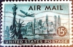 Stamps United States -  Intercambio 0,20 usd 15 cent. 1947