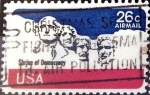 Stamps United States -  Intercambio 0,20 usd 26 cent. 1974