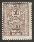 Stamps Romania -  Sello Tasa