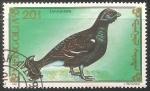 Stamps Mongolia -  Lururus tetrix- gallo lira