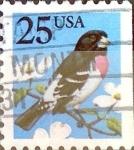 Sellos de America - Estados Unidos -  Intercambio 0,20 usd 25 cent. 1988